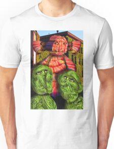 Lettuce Men Looking at the Bacon Poser Man Unisex T-Shirt