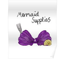 Mermaid Supplies Poster