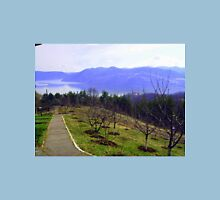 View from St Anne Monastery, Orșova, Romania Unisex T-Shirt