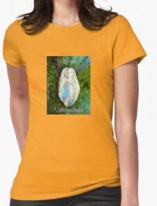 You are Unrepeatable by Nymph-ish Rainbow Moonstone Mermaid Goddess with Iolite Womens Fitted T-Shirt