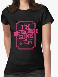 Certified SNSD SONE Womens Fitted T-Shirt