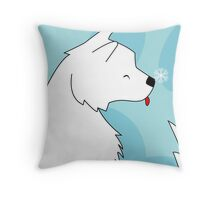 When a dog is in your life Throw Pillow