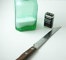 A Salt and Battery with a Deadly Weapon by Judi FitzPatrick