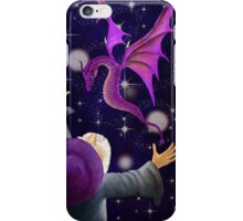 The Wizard and his Dragon iPhone Case/Skin