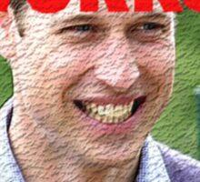 Prince William Celebration Peasants Meme. Sticker
