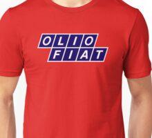 Olio Fiat - Blue/White Unisex T-Shirt