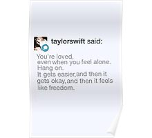 Taylor Swift Tumblr Reply Poster