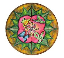 Mandala : Australian Rainforest by danita clark