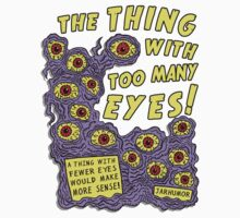 Too Many Eyes Baby Tee