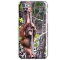 Lonely ape iPhone Case/Skin