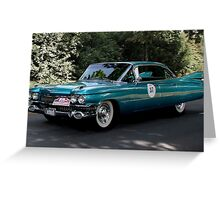 Cadillac, Series 62 Sedan from 1959 Greeting Card