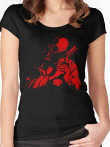 The Red Dawn Women's Fitted Scoop T-Shirt