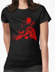 The Red Dawn Womens Fitted T-Shirt