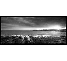 Mono Rays Photographic Print