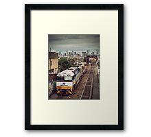 Western Side Framed Print