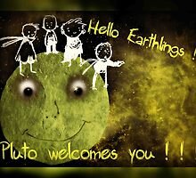 Hello, Earthlings !  by Bine
