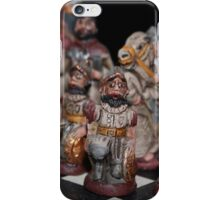 Chess - Spanish Army versus the Incas iPhone Case/Skin