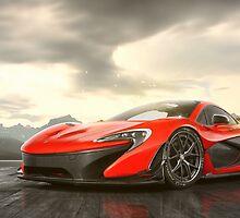 McLaren P1 by Jakob93