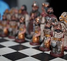 Chess - Spanish Army versus the Incas by valgigz
