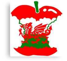 Welsh To The Core T Shirts, Stickers and other gifts Canvas Print