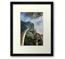 Urban Sculpture Framed Print