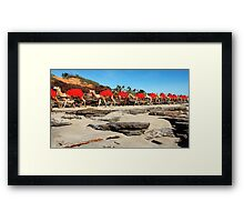 The camels are coming, yo ho, yo ho!  (Apologies to all Scots)! Framed Print