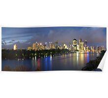 Brisbane River Poster