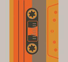 Casette Funk Alone - Big Orange by Ozgur Kusakoglu