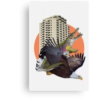 Cage home Canvas Print