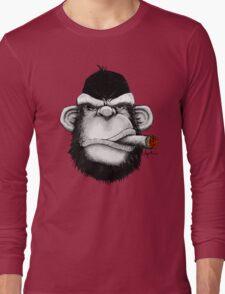 Cigar Monkey Long Sleeve T-Shirt