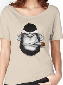 Cigar Monkey Women's Relaxed Fit T-Shirt