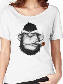 Cigar Monkey Women's Relaxed Fit T-Shirt