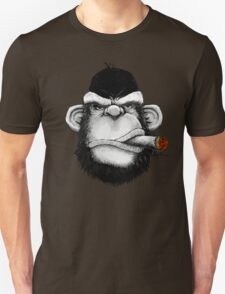 Cigar Monkey Unisex T-Shirt