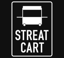 STREAT cart white T-Shirt