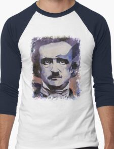 Edgar Allan Poe Men's Baseball ¾ T-Shirt