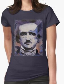 Edgar Allan Poe Womens Fitted T-Shirt