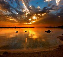 Elafonissos sunset - Crete island by Hercules Milas