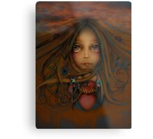 Heart of the Earth Metal Print