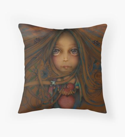 Heart of the Earth Throw Pillow