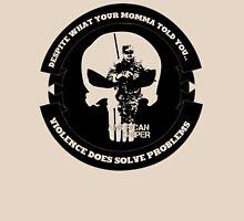 AMERICAN SNIPER CRAFT C.R.A.F.T. VIOLENCE SOLVE PROBLEMS Unisex T-Shirt