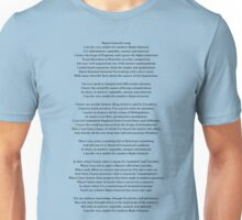 Major General's song - Pirates of Penzance - Gilbert & Sullivan Unisex T-Shirt