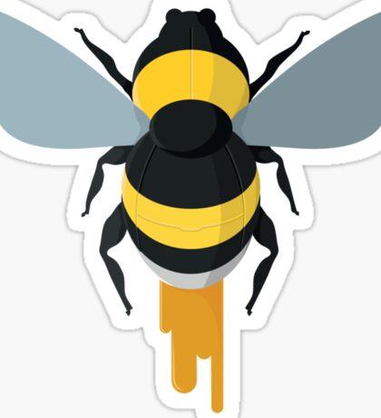 The Mechanical Bumblebee Sticker