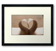 """""""love is an open book 2"""" Framed Print"""