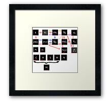 Calculations Framed Print