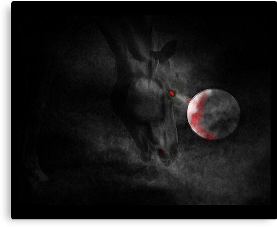 cheval de moissonneuse sinistre by vampvamp