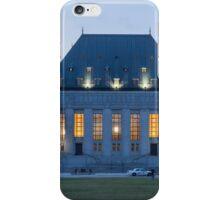 Supreme Court of Canada building - Ottawa, Canada iPhone Case/Skin