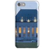 Supreme Court of Canada building - Ottawa, Canada iPhone Case/Skin