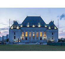 Supreme Court of Canada building - Ottawa, Canada Photographic Print
