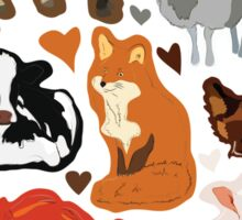 Vegan for the animals Sticker