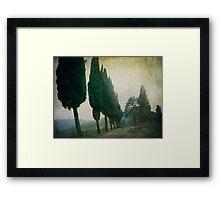 Toscana Vintage Framed Print